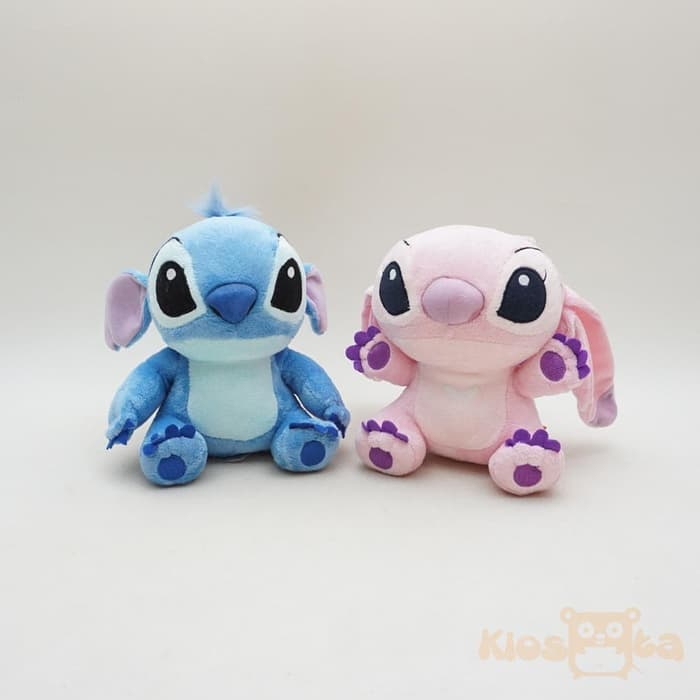 boneka couple baby angel and stitch polos original disney new April