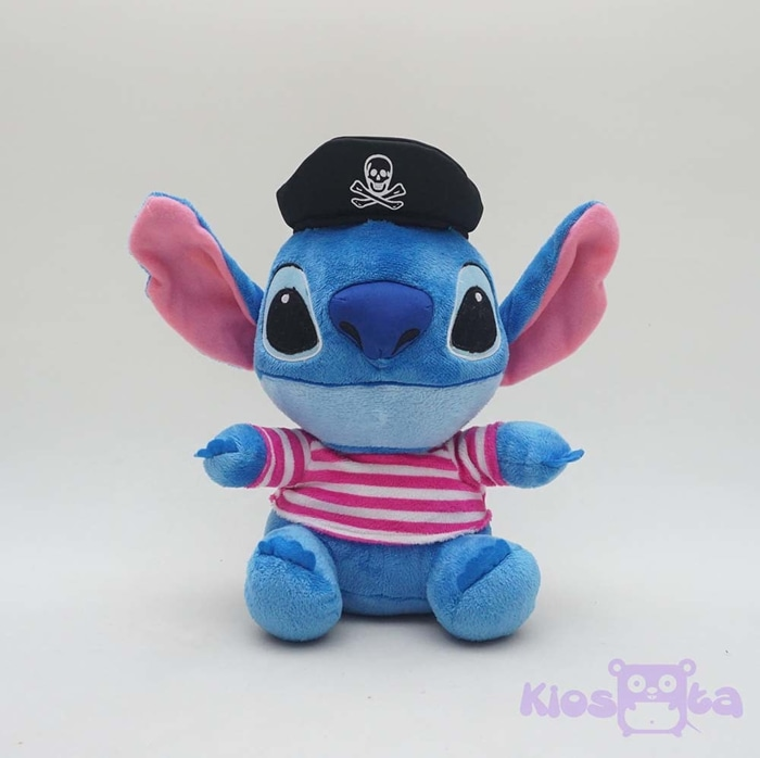 Boneka stitch kostum bajak laut pirate