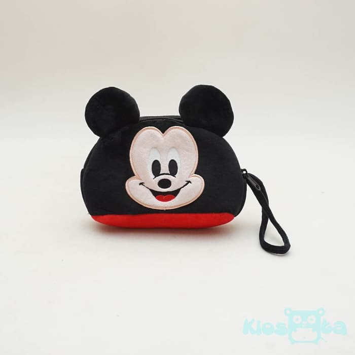 dompet hp oval mickey mouse 2 resleting