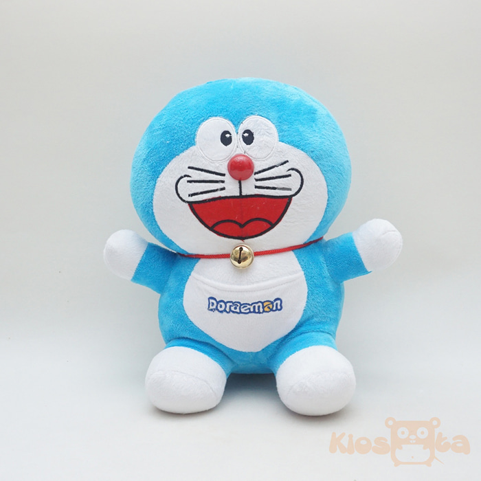 boneka doraemon medium sitting