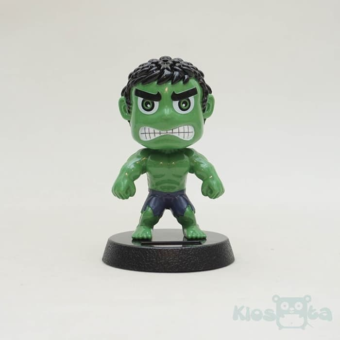 Pajangan solar dashboard hulk the avengers