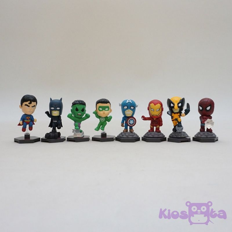styling figure super heroes the avengers small new