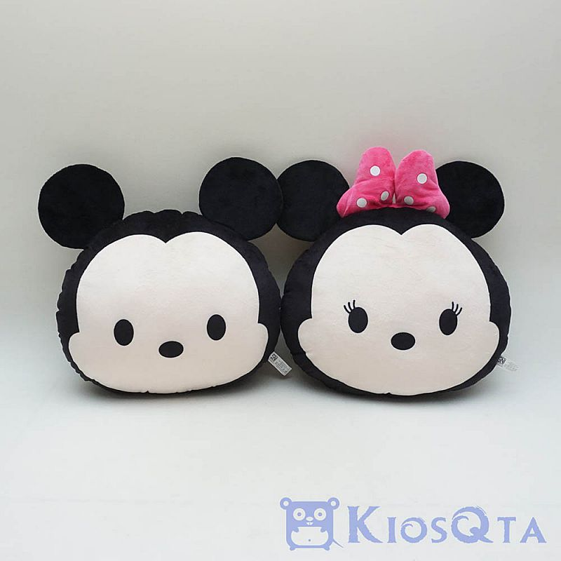 Bantal couple mickey dan minnie mouse new JAN