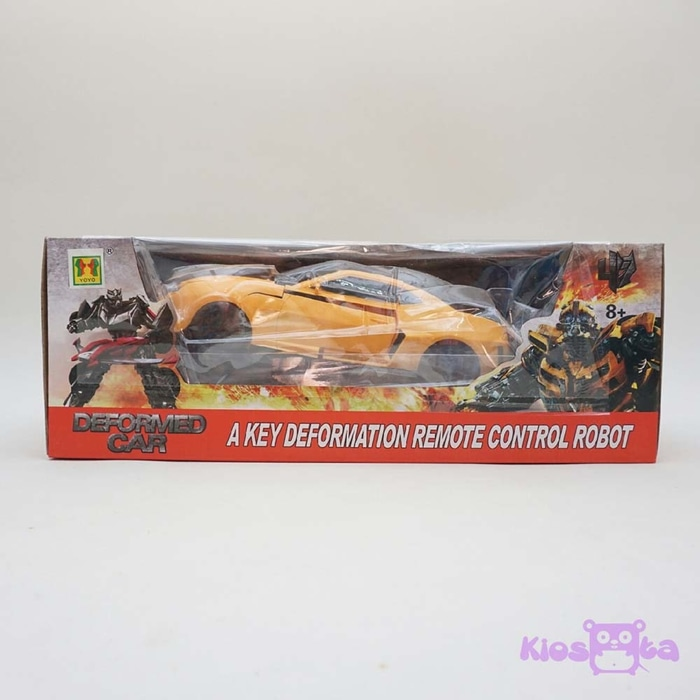 RC transformer bumble bee remote control berubah jadi robot