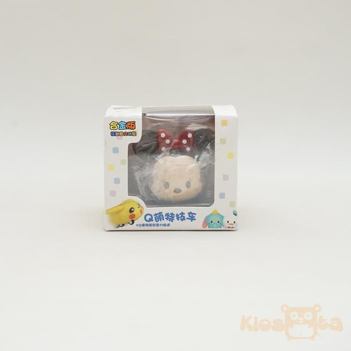 diecast mobil tsum tsum minnie mouse pull and go