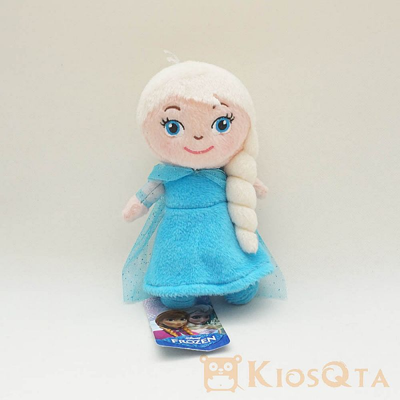 boneka elsa frozen chibi original disney blue dress