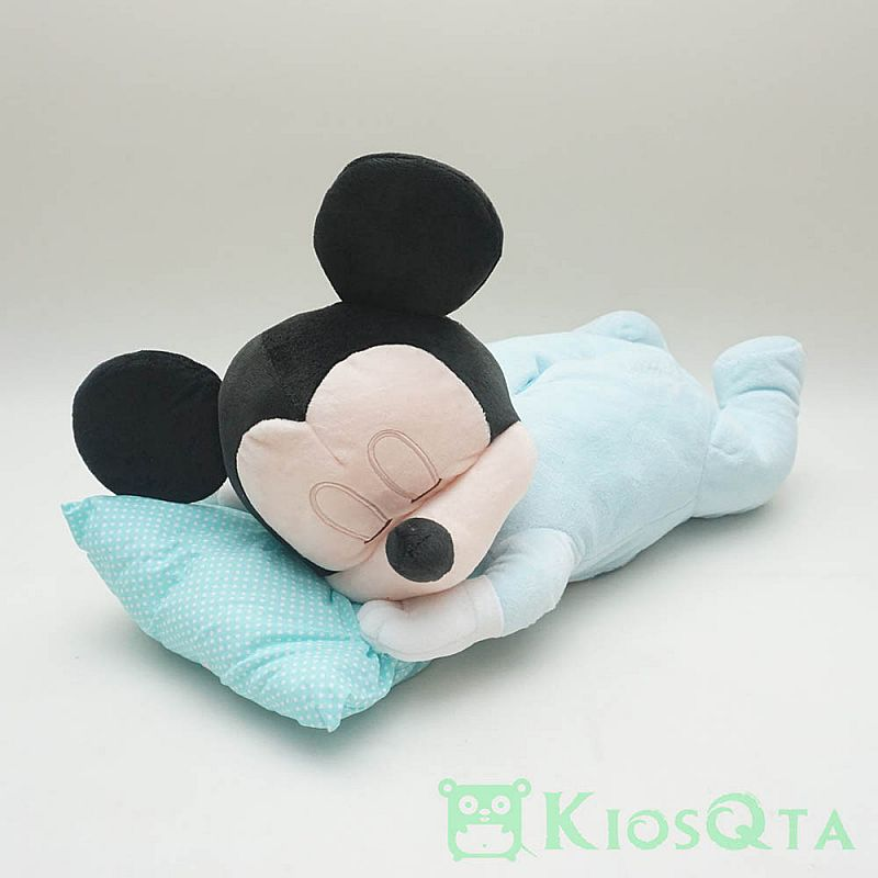 tempat tissue baby mickey mouse sleeping original disney new des