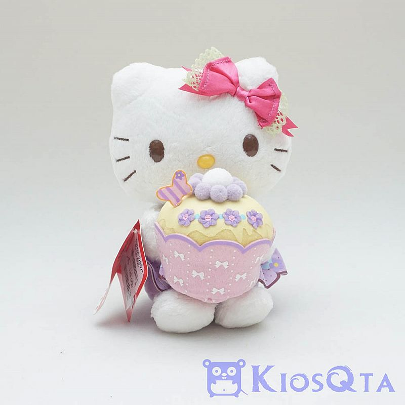 Boneka hello kitty cupcake original sanrio type H