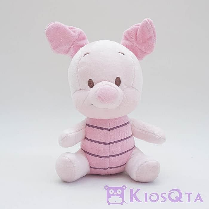 boneka baby piglet sitting winnie the pooh original disney small